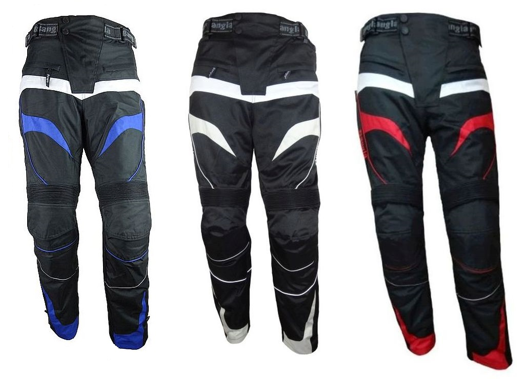 Bangla Motorrad Hose Motorradhose Protektoren Textil schwarz blau rot grau S-8XL