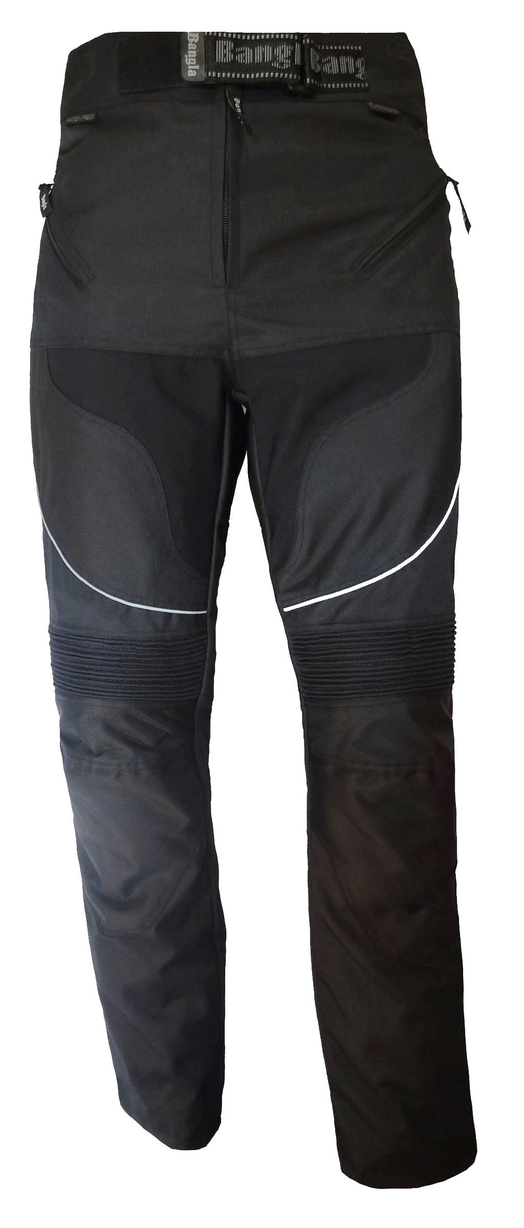 Bangla Motorrad Hose Motorradhose Textil Cordura Schwarz S bis 8 XL