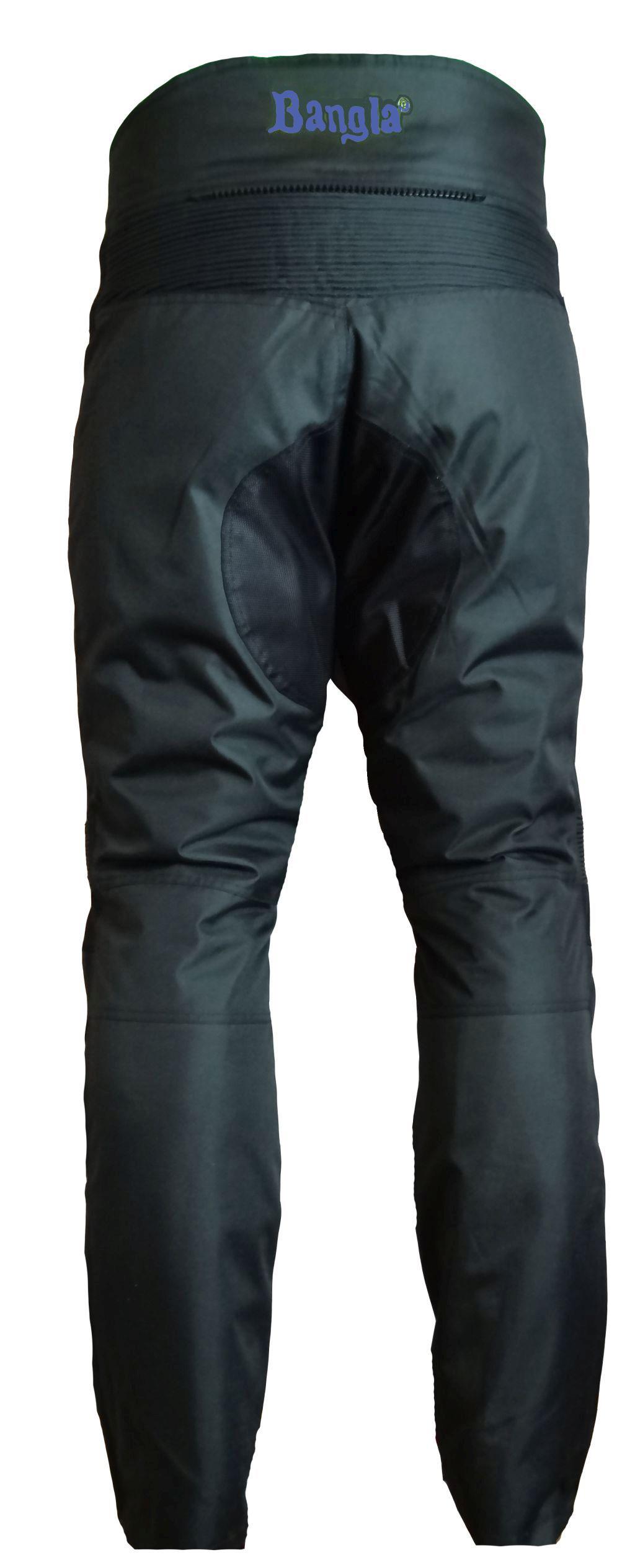 Bangla Motorrad Hose Motorradhose Protektoren Textil Cordura schwarz blau S-8 XL