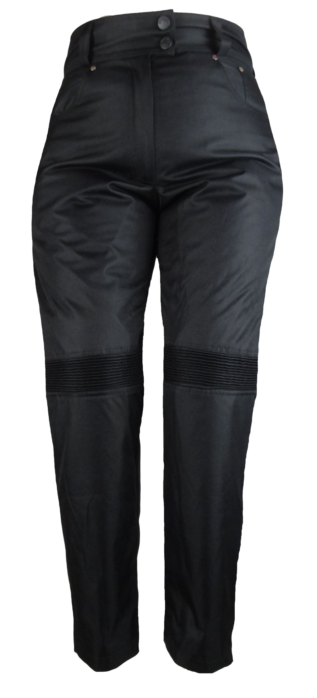 damen motorrad hose schwarz im jeans look motorradhose s m. Black Bedroom Furniture Sets. Home Design Ideas