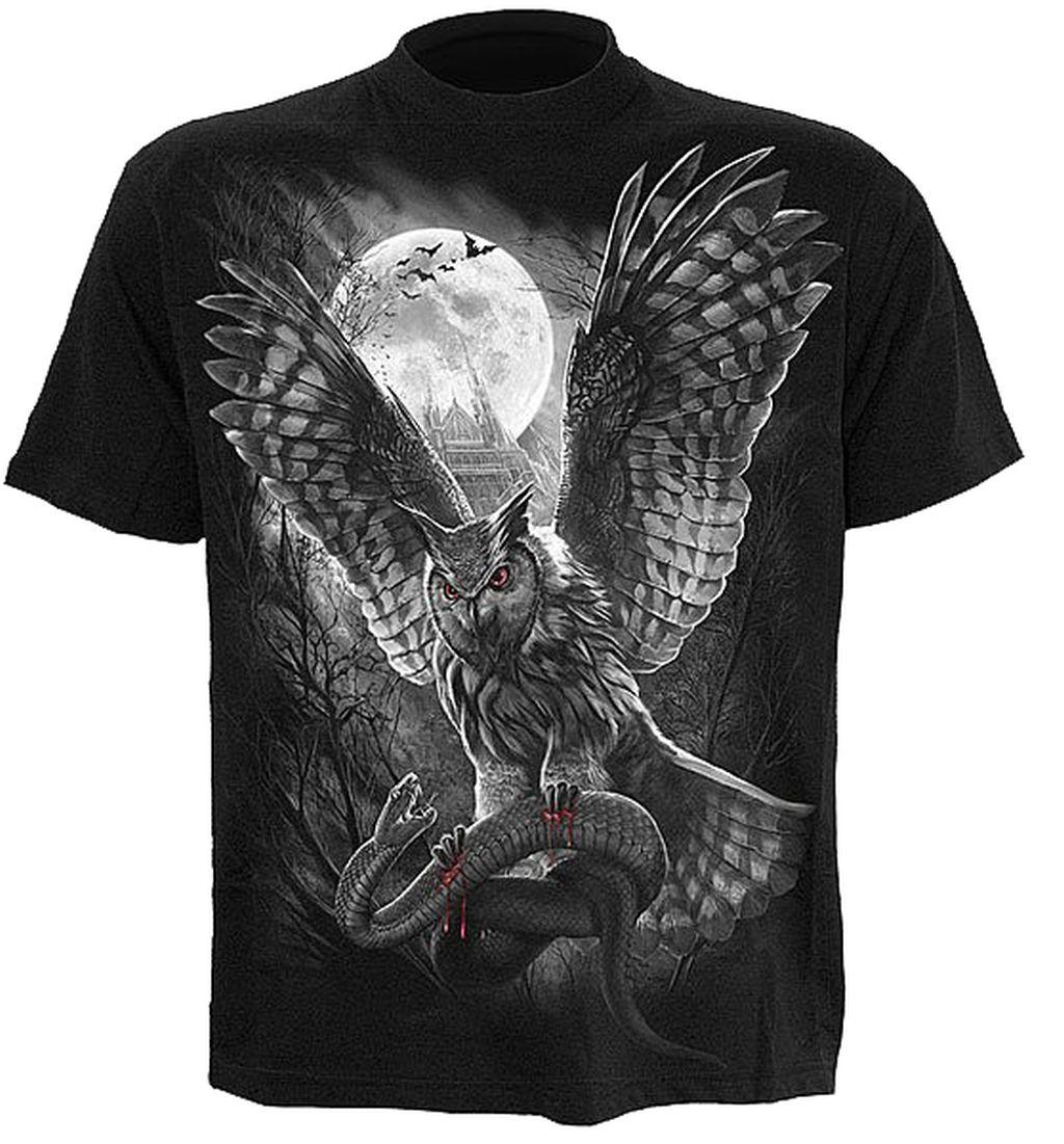 Spiral T Shirt Gothic Dark Schwarz Unisex hunter DT210 Neu Gr S M L XL
