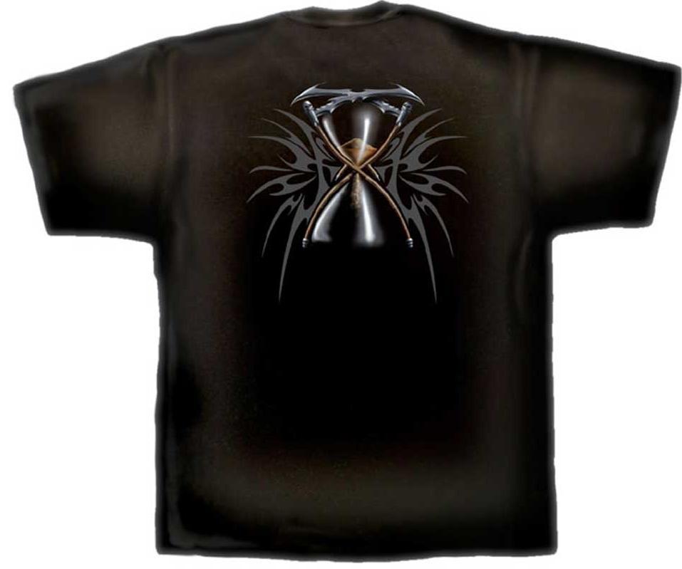 Spiral T Shirt Gothic Dark Schwarz Unisex DEATH TR 155 Neu Gr.M - XXL