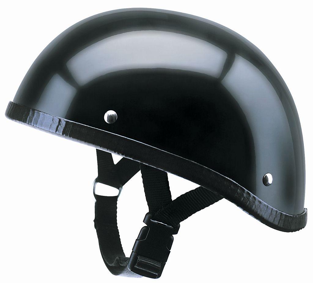 Redbike Kochmann Motorrad Helm Braincap schwarz matt RB 100 (ohne ECE) S-XL
