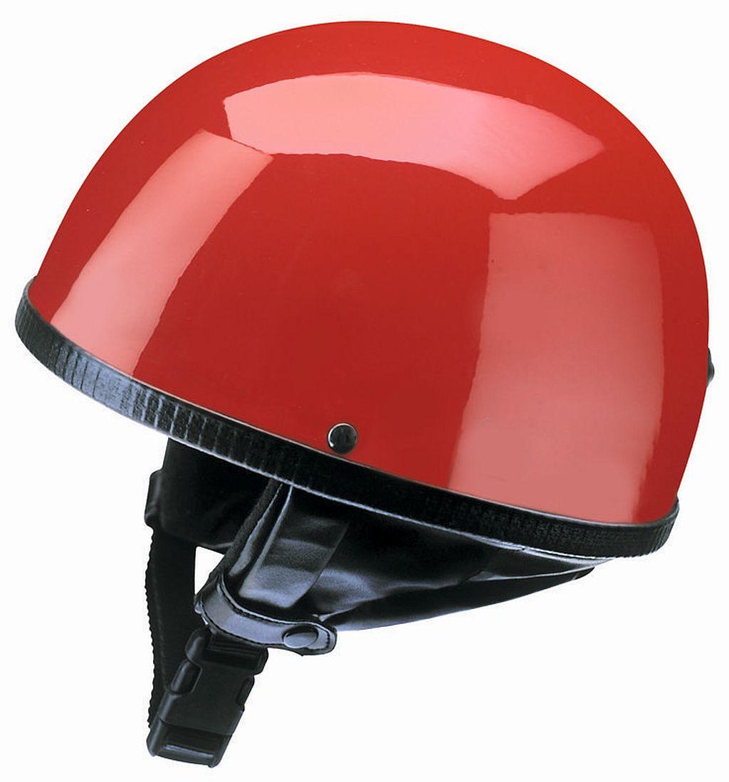 Redbike Motorrad Helm Jethelm Oldtimer Retro Kochmann RB 500 rot S - XXL
