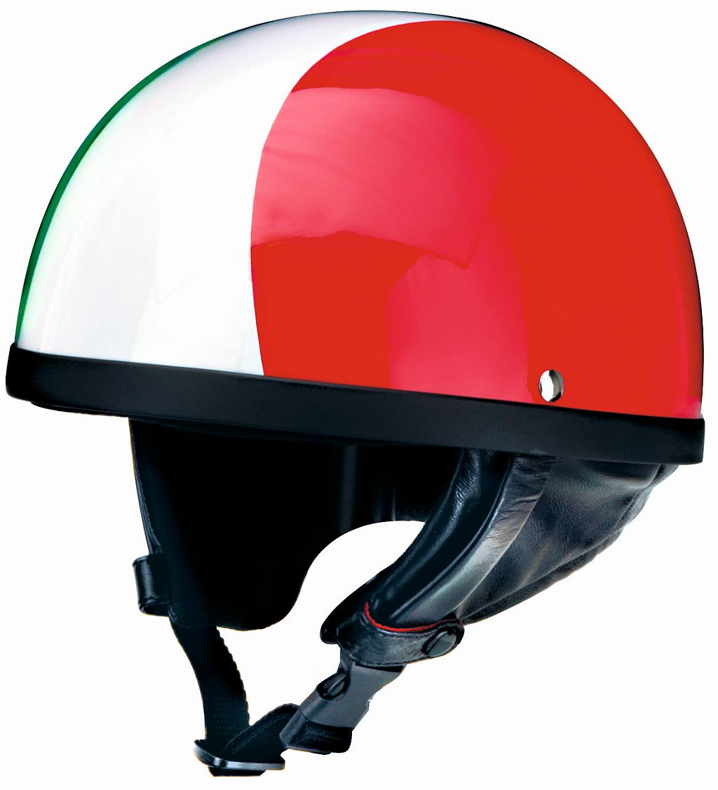 Motorrad Helm Jethelm Oldtimer Italia Kochmann Redbike RB 510 Italia S - XXL