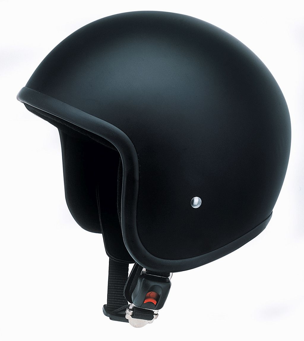 Redbike Motorrad Helm Jethelm Oldtimer Kochmann RB 650 matt schwarz S - XXL