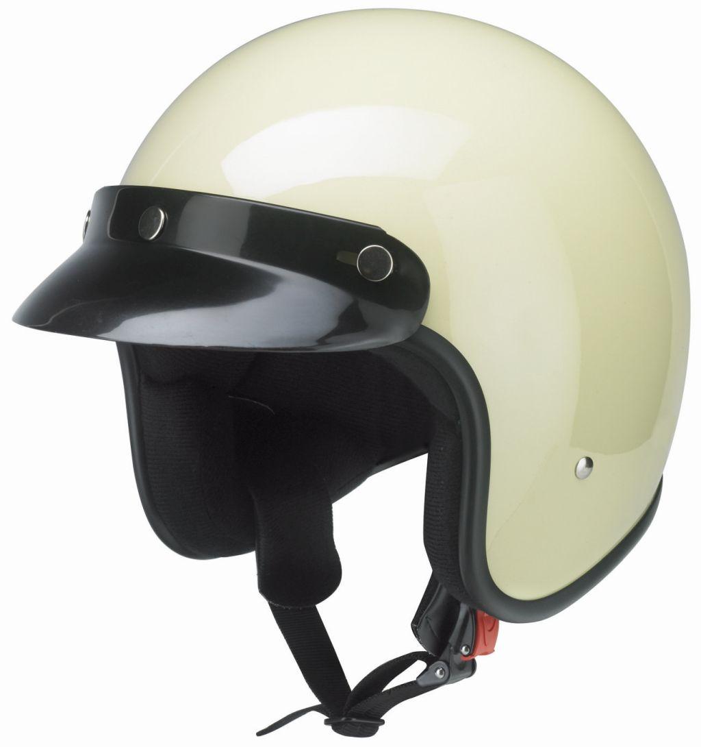 Redbike Motorrad Helm Jethelm mit Frontschirm Kochmann RB 710 elfenbein XS - XXL