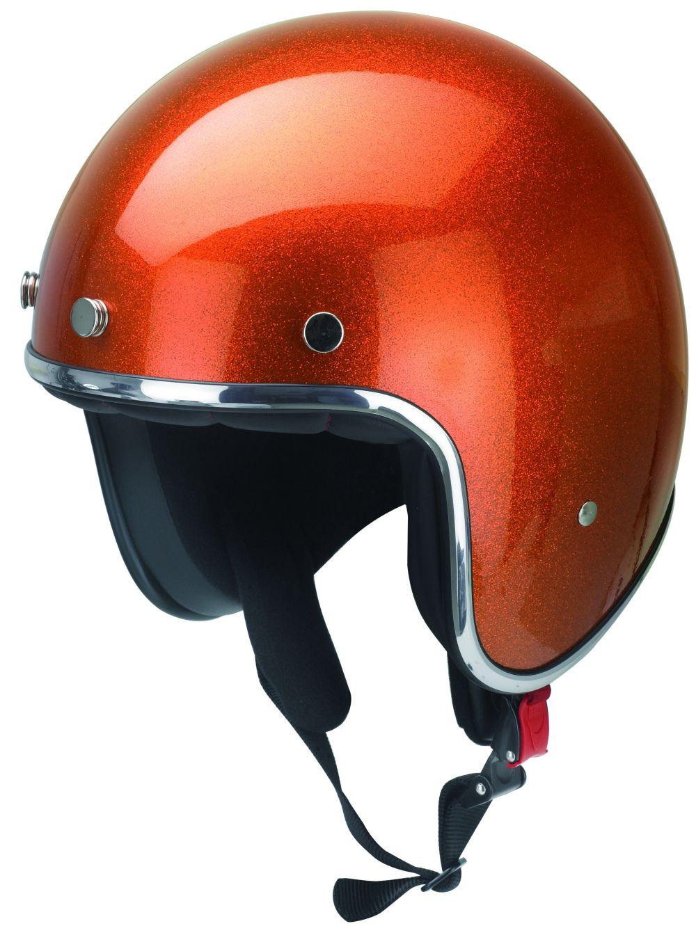 Motorrad Helm Motorradhelm Jethelm Kochmann Metallic Orange XS S M L XL XXL