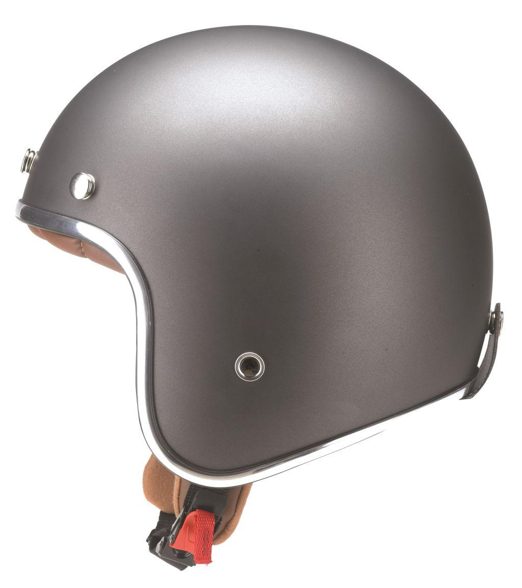 Kochmann Redbike Motorradhelm Roller Jet Helm Titanium mit ECE RB 756 XS - XXL
