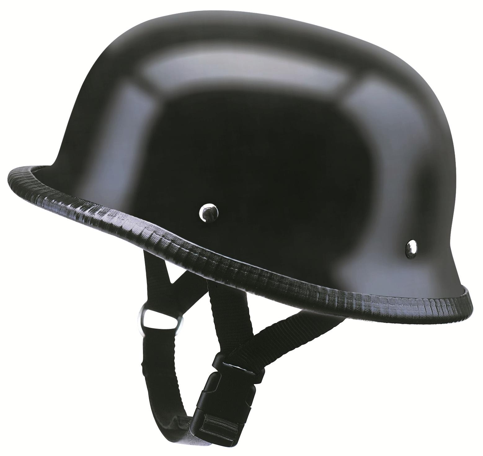 Motorrad Helm Motorradhelm Braincap Halbschale Kochmann Matt-Schwarz S-XXL