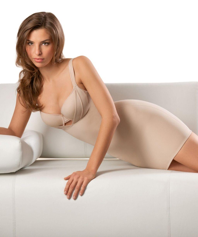 Damen Unterkleid Miederkleid Shapewear Cybele 14390 schwarz oder haut 65 - 85