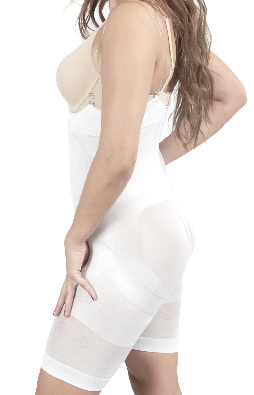 Mieder Bodyshaper figurformende Taillenformer Miederhose Bauchweg weiss S-XXXL