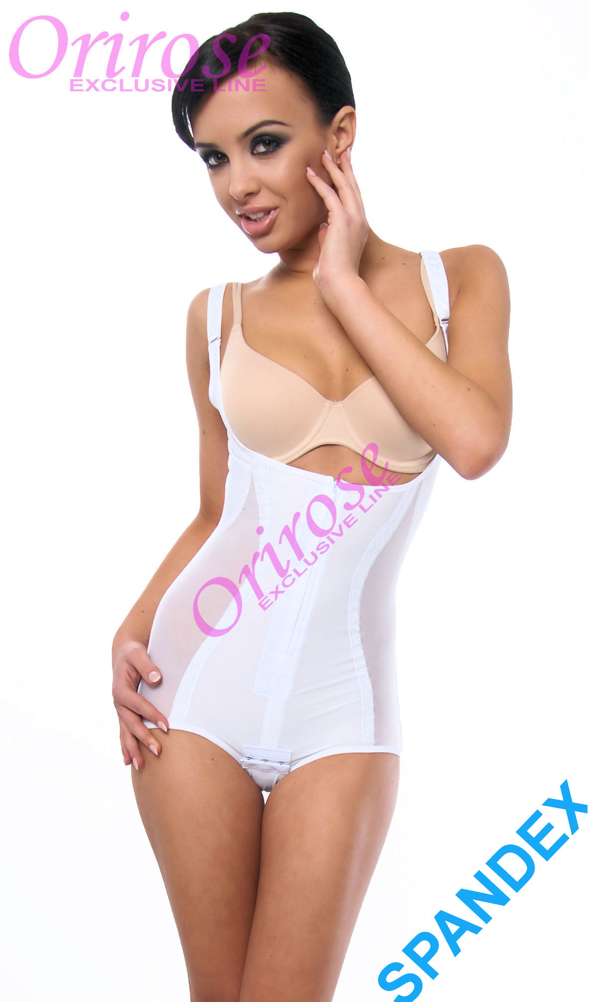 OriRose Miederbody Mieder Shapewear Sommerbody Korselett 3003 weiß 36-42