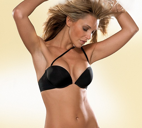 Wonderbra Multiway BH Push-up Bügel-BH 9243 skin schwarz 70-85 A-D