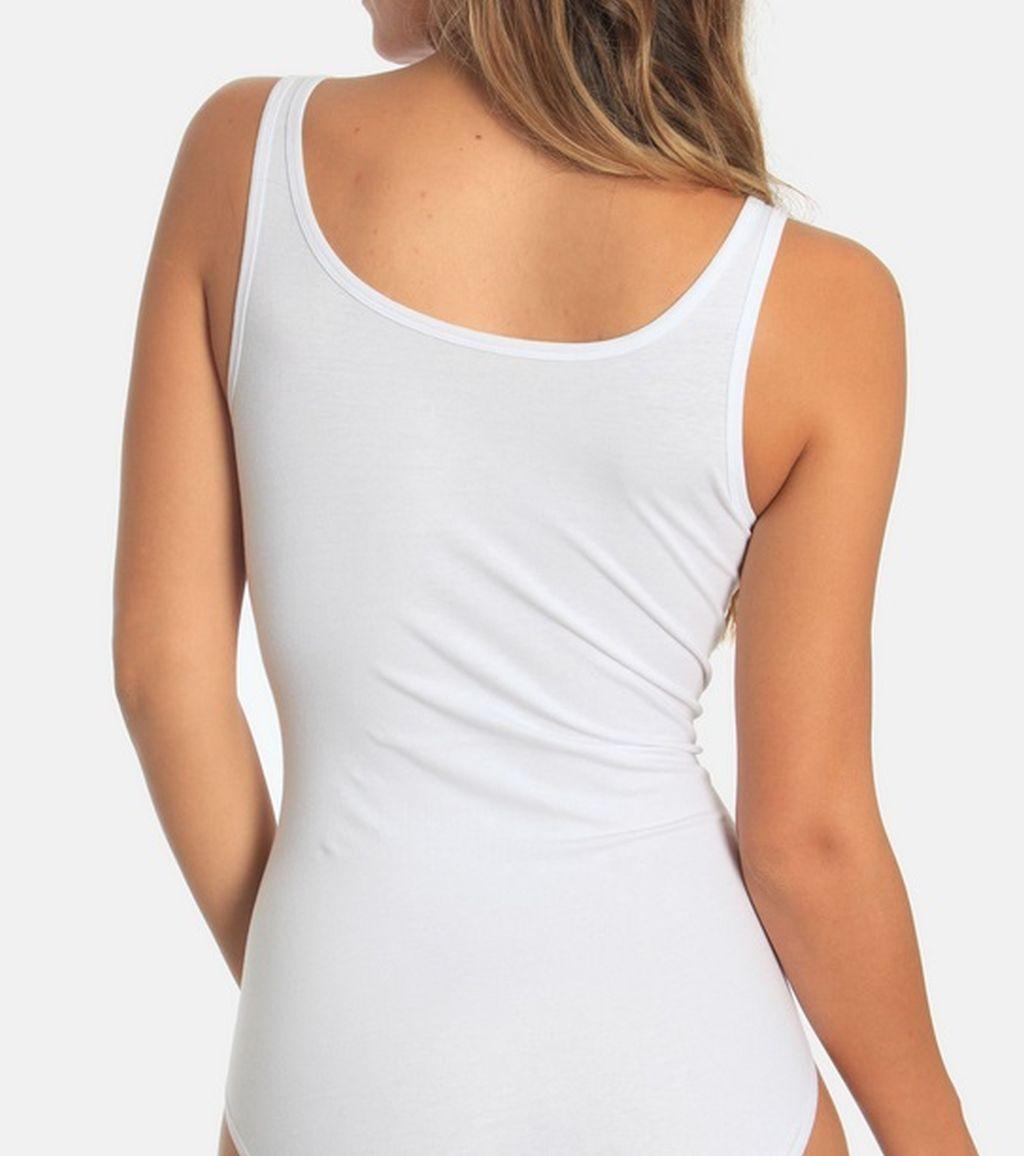 Sassa Damen Body Casual Comfort Baumwolle 967 weiss Gr. 36 - 50