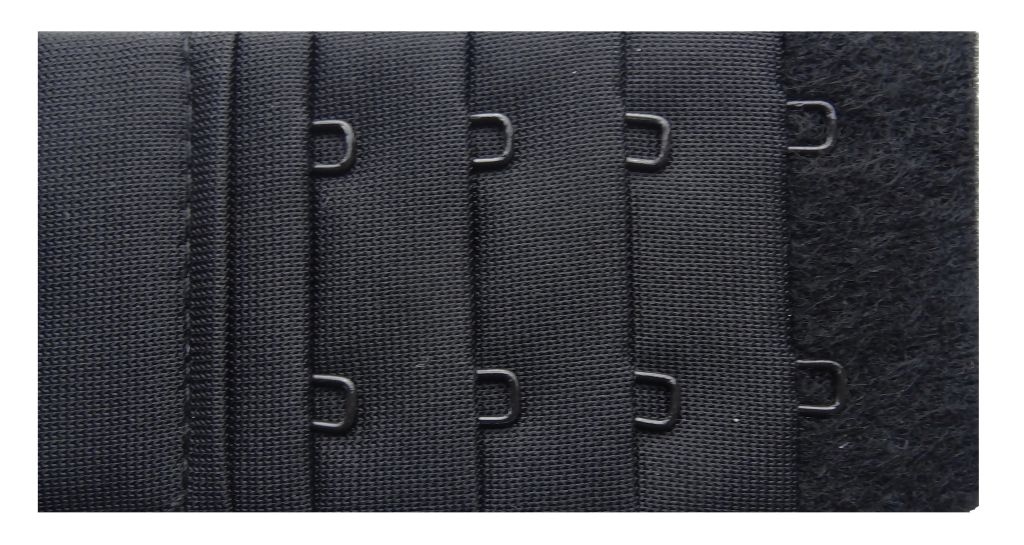 2 x BH Verlängerung von Naturana schwarz weiss 4 cm