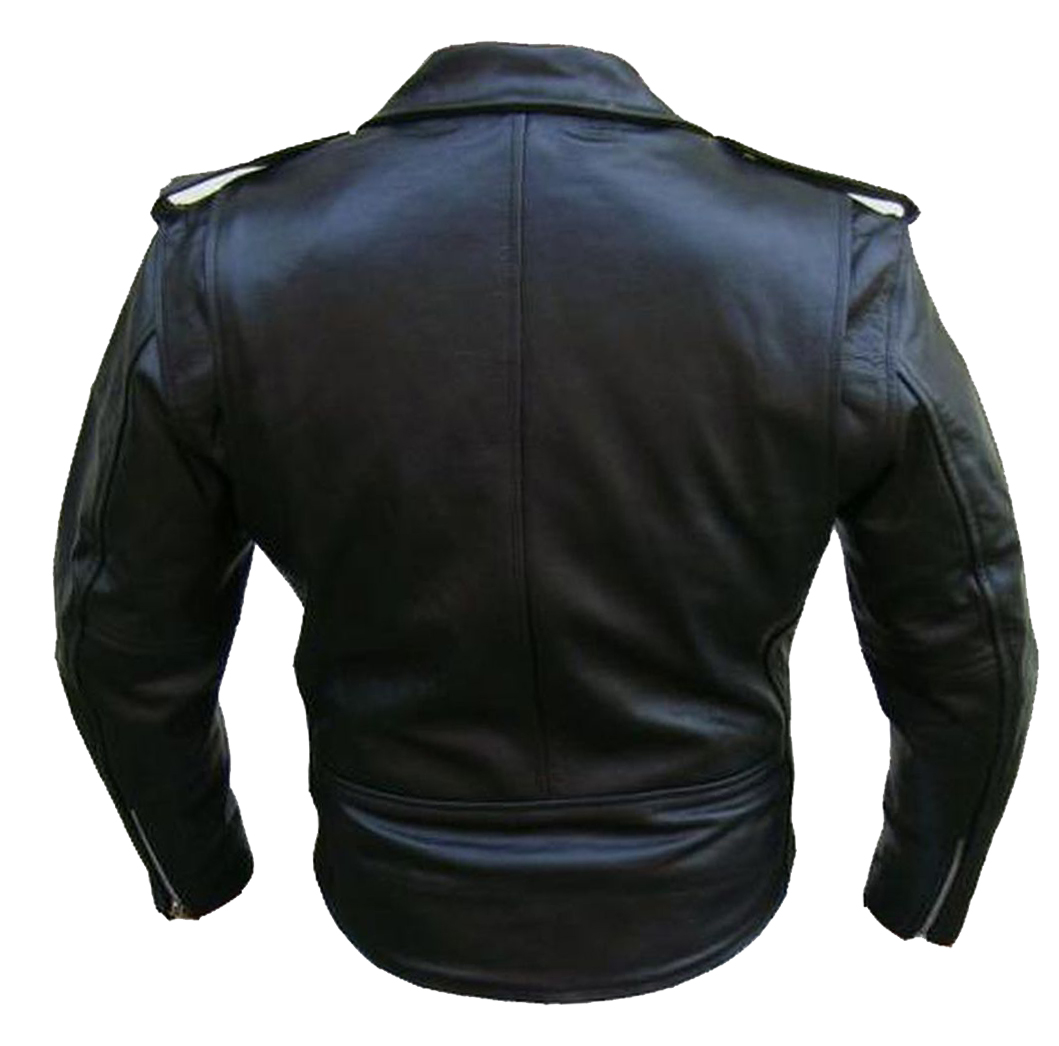 Bangla Motorradjacke Lederjacke Chopperjacke Jacke schwarz S - 6 XL NEU