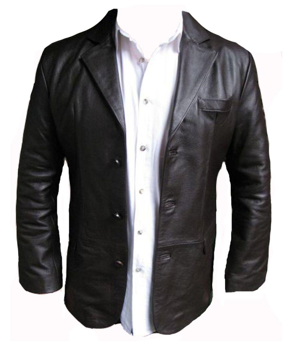 Veste hommes cuir veste de costume blazer marron m l xl xxl 6 xl ebay - Blazer homme marron ...