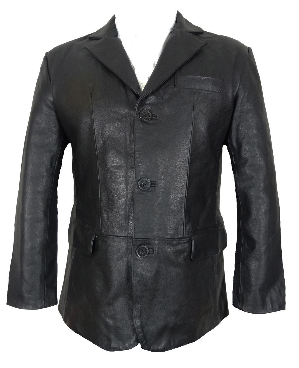bangla 1403 jacke blazer lederjacke herren sakko schwarz m 6 xl. Black Bedroom Furniture Sets. Home Design Ideas