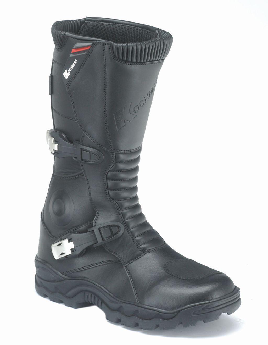 Motorrad Cross Stiefel Enduro Moto Cross Leder schwarz Desert 40 - 48
