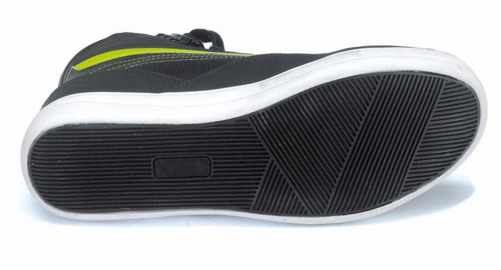 Motorrad Schuhe leichter Sneaker Kurzstiefel Leder Manhattan Gr. 38 - 47