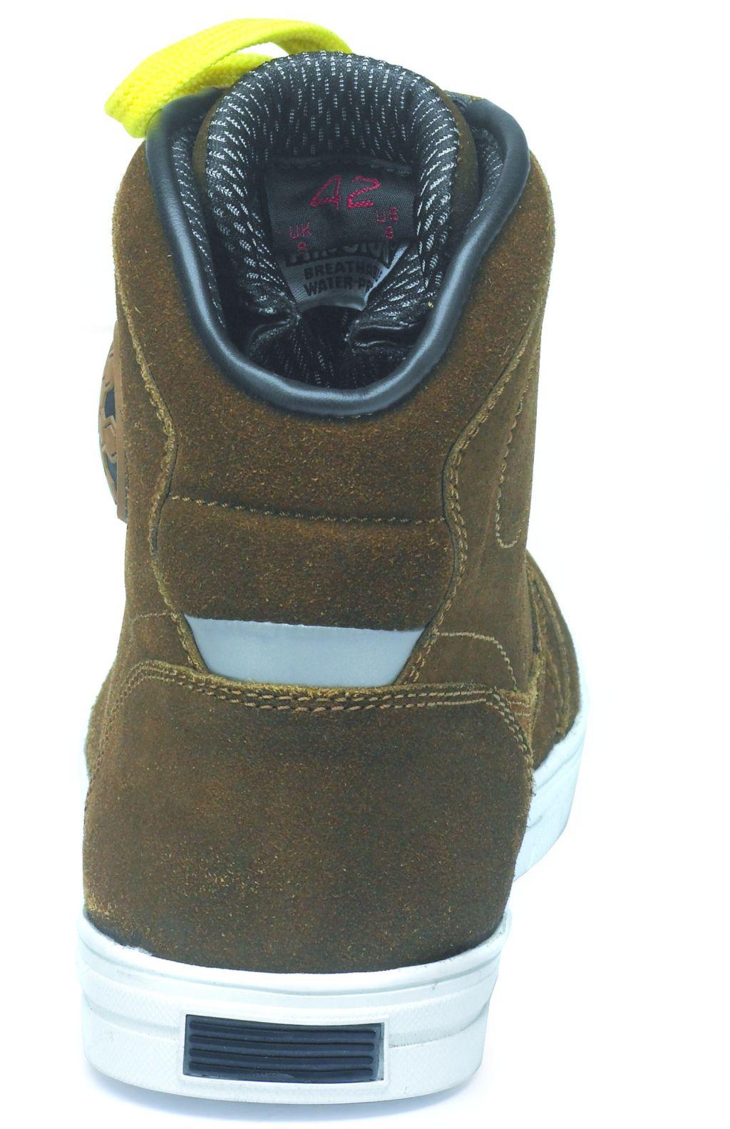 Motorrad Schuhe Allround Sneaker Kurzstiefel Twister Braun 38 - 47 NEU