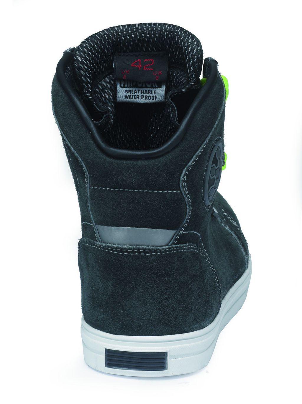 Motorrad Schuhe Allround Sneaker Kurzstiefel Twister Grau Gr.38 - 48 NEU
