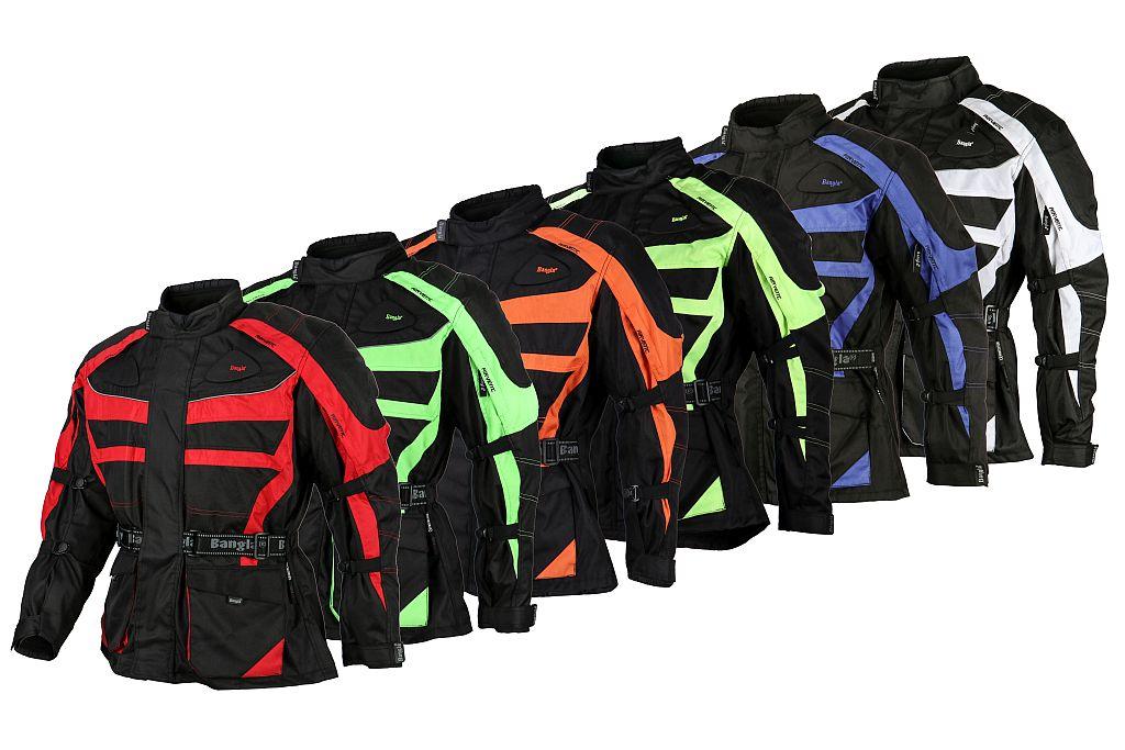 Bangla Motorradbekleidung Motorradjacke Motorrad Jacke Protektoren M bis 8 XL