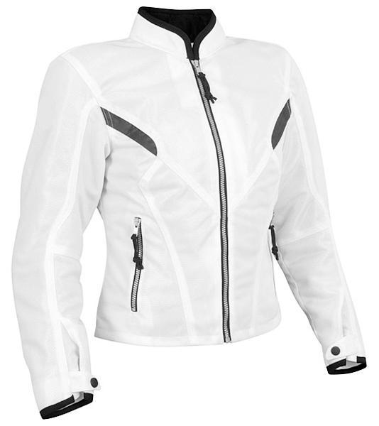 Bangla Damen Motorrad Jacke Motorracke Textil Weiß S M L XL XXL XXXL