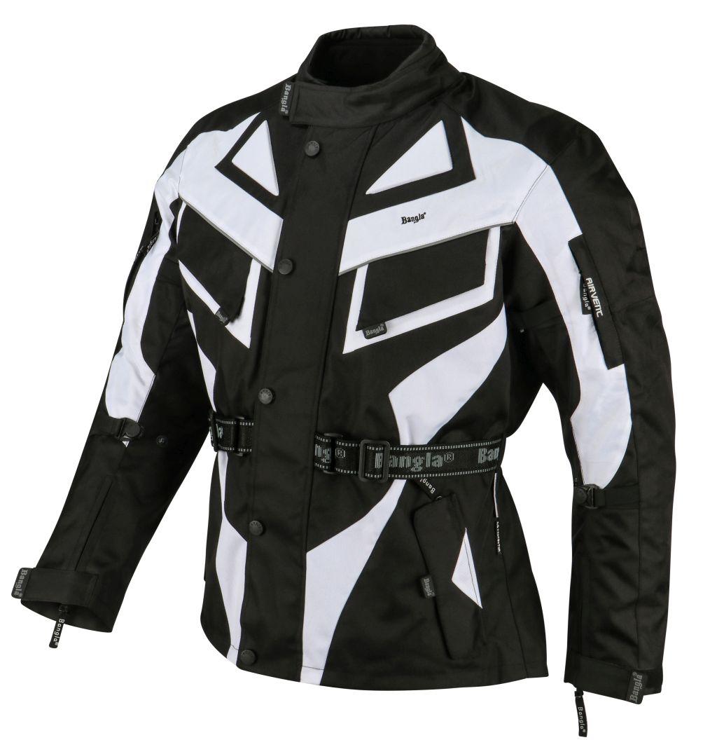 Bangla Motorrad Jacke Motorradjacke Textil 5 Farbkombinationen wählbar M - 6 XL