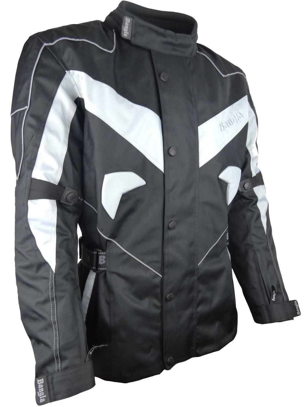 Bangla Motorrad Jacke Motorradjacke Cordura Winter Fleeceinnenfutter S - 6 XL