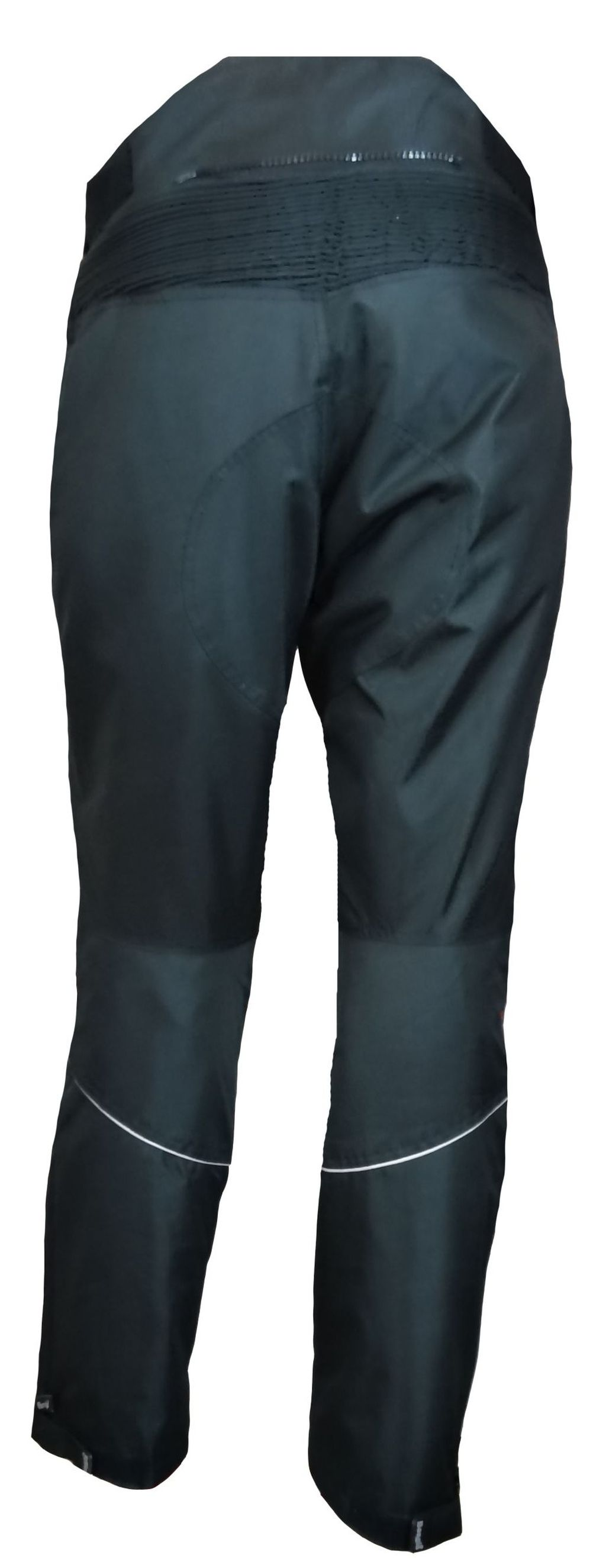 Bangla Motorrad Hose Motorradhose Cordura Textil schwarz weiss rot S - 6 XL