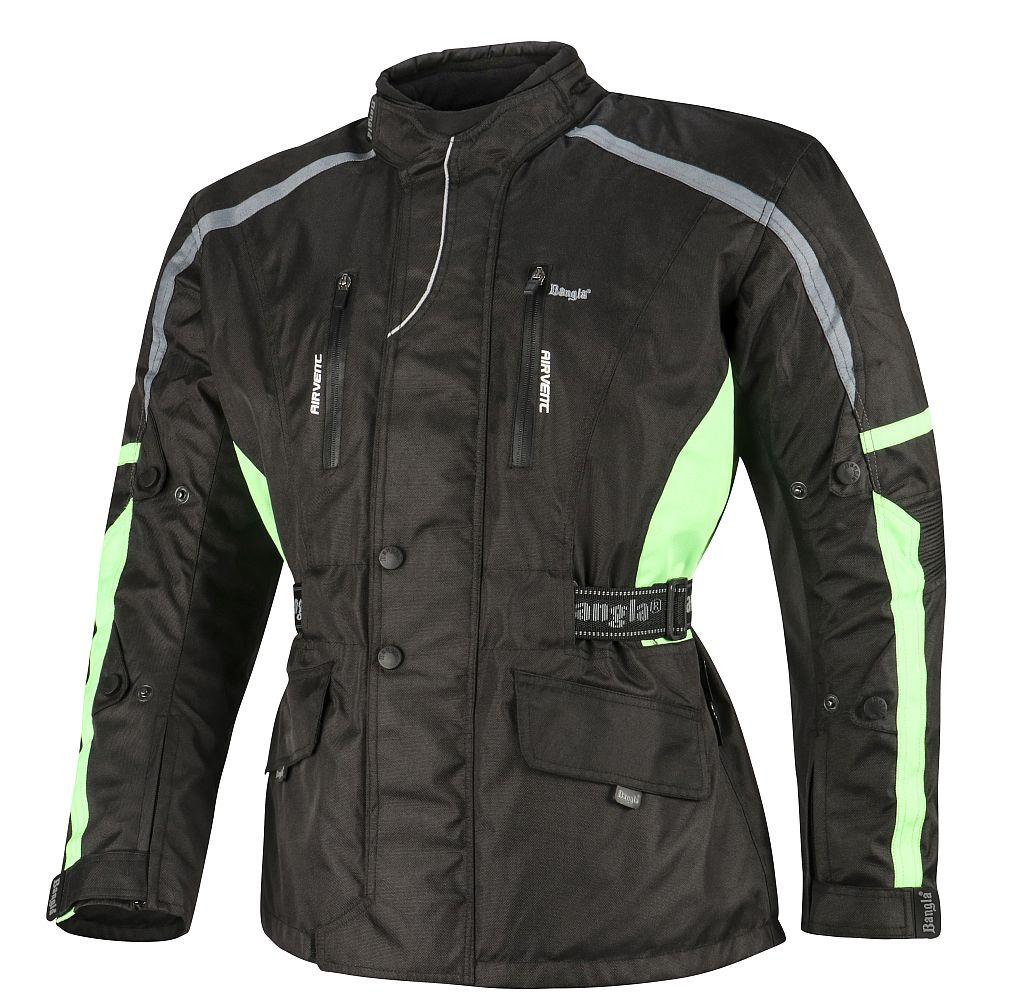 Bangla Motorradjacke Motorrad Jacke Textil Cordura schwarz grau gruen M - 6 XL