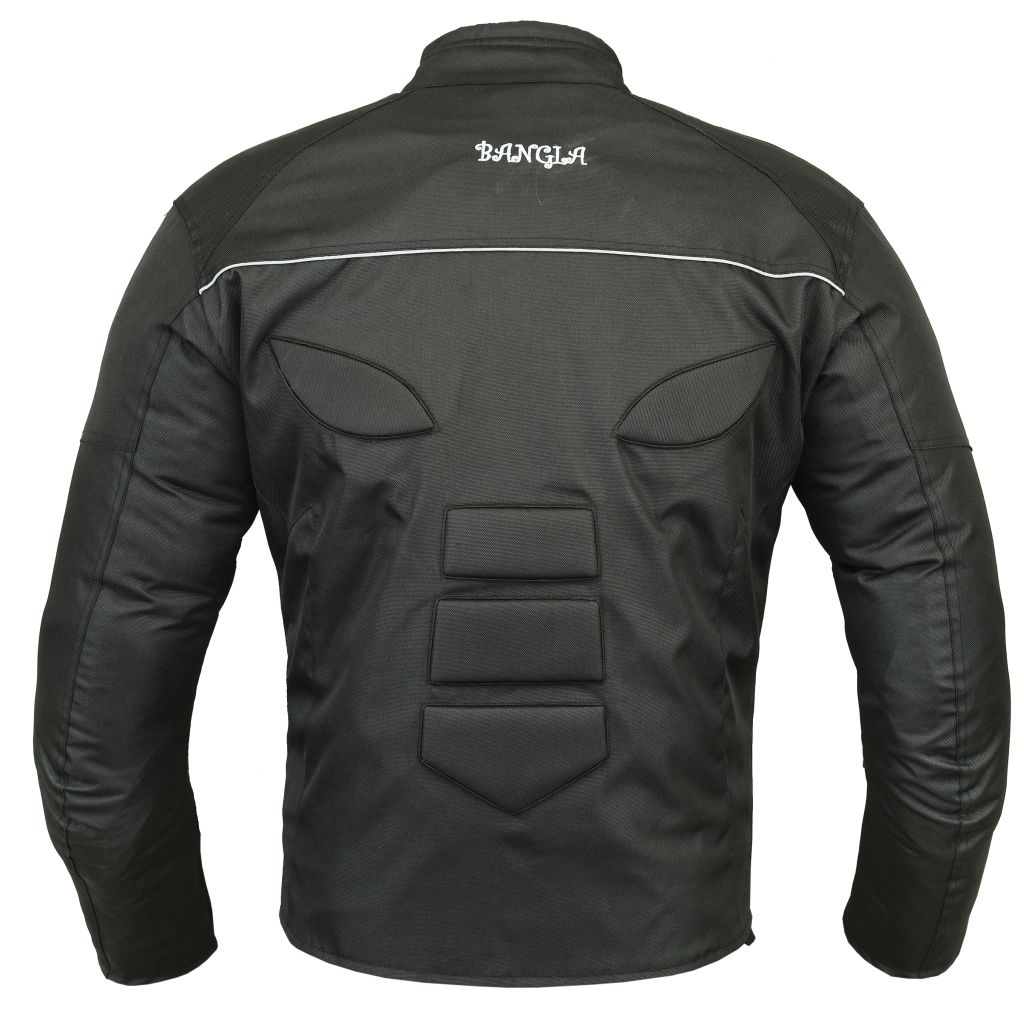 Bangla Motorradjacke Textil Biker Kurzjacke schwarz S M L XL XXL XXXL