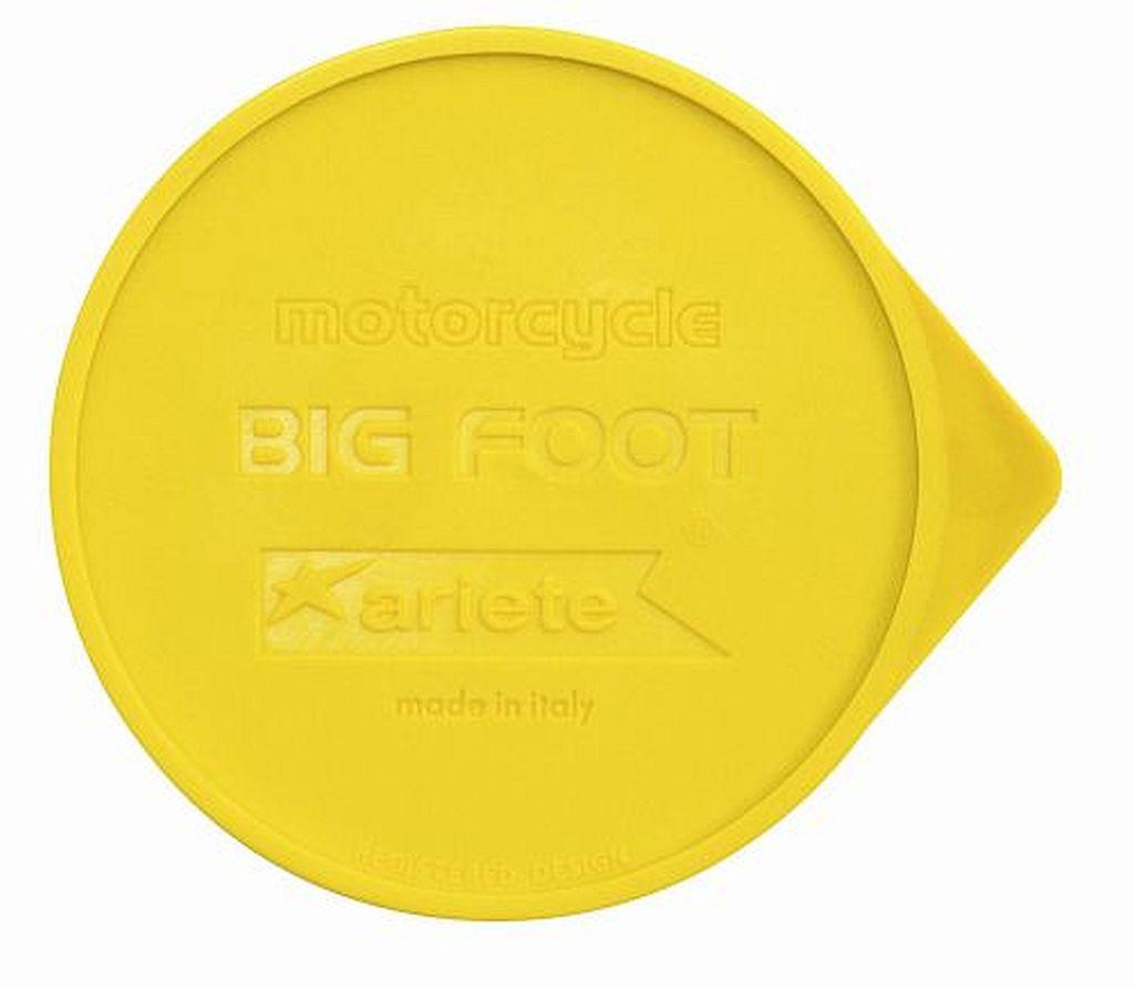 Motorrad Seitenständer Unterlage Big Foot Gelb