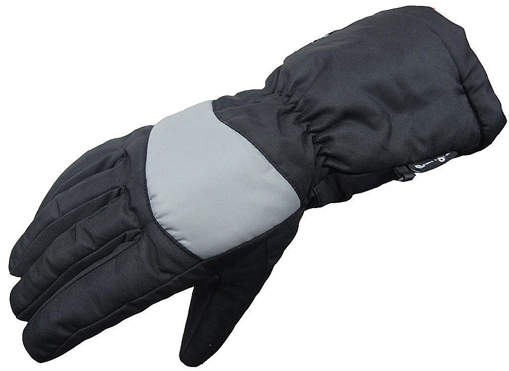 Motorrad Handschuh Motorradhandschuhe Ski Winter Thinsulate schwarz grau S - XXL
