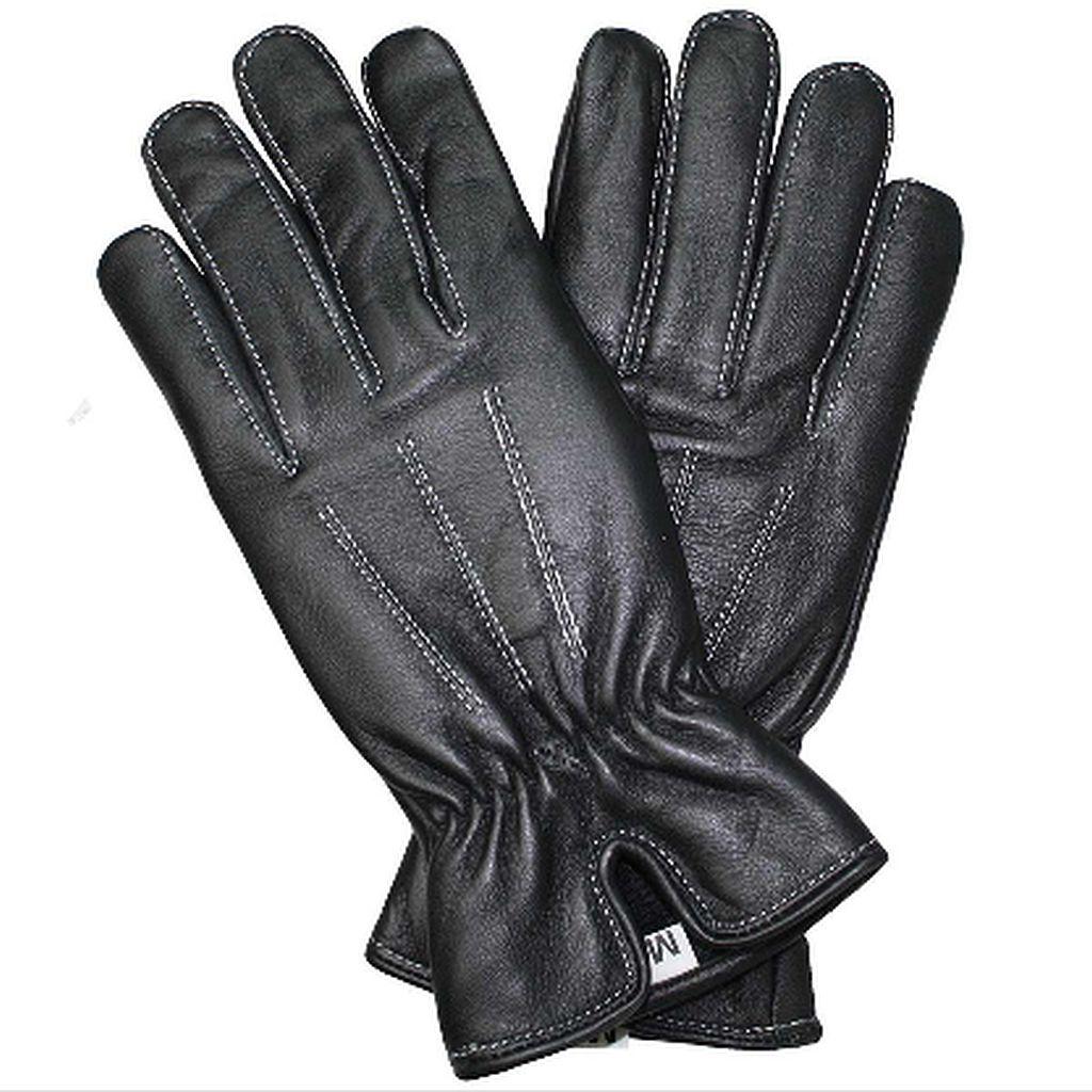 Elegante Damen Handschuhe Lammnappa Leder Schwarz S M L