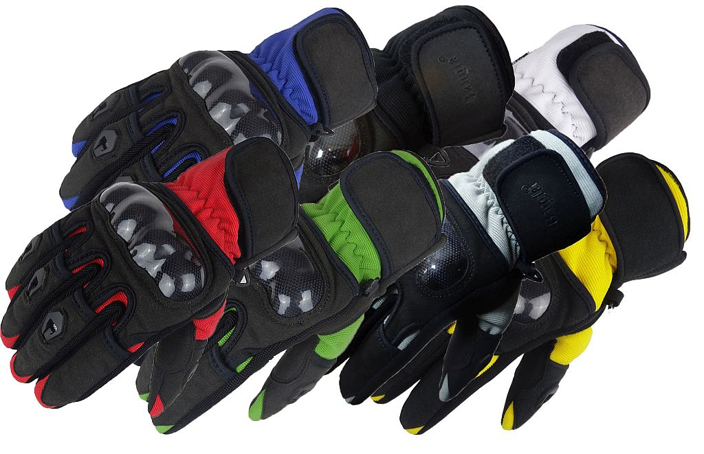 Bangla Motorradhandschuhe Motorrad Handschuh Textil Sommer XS - XXXL