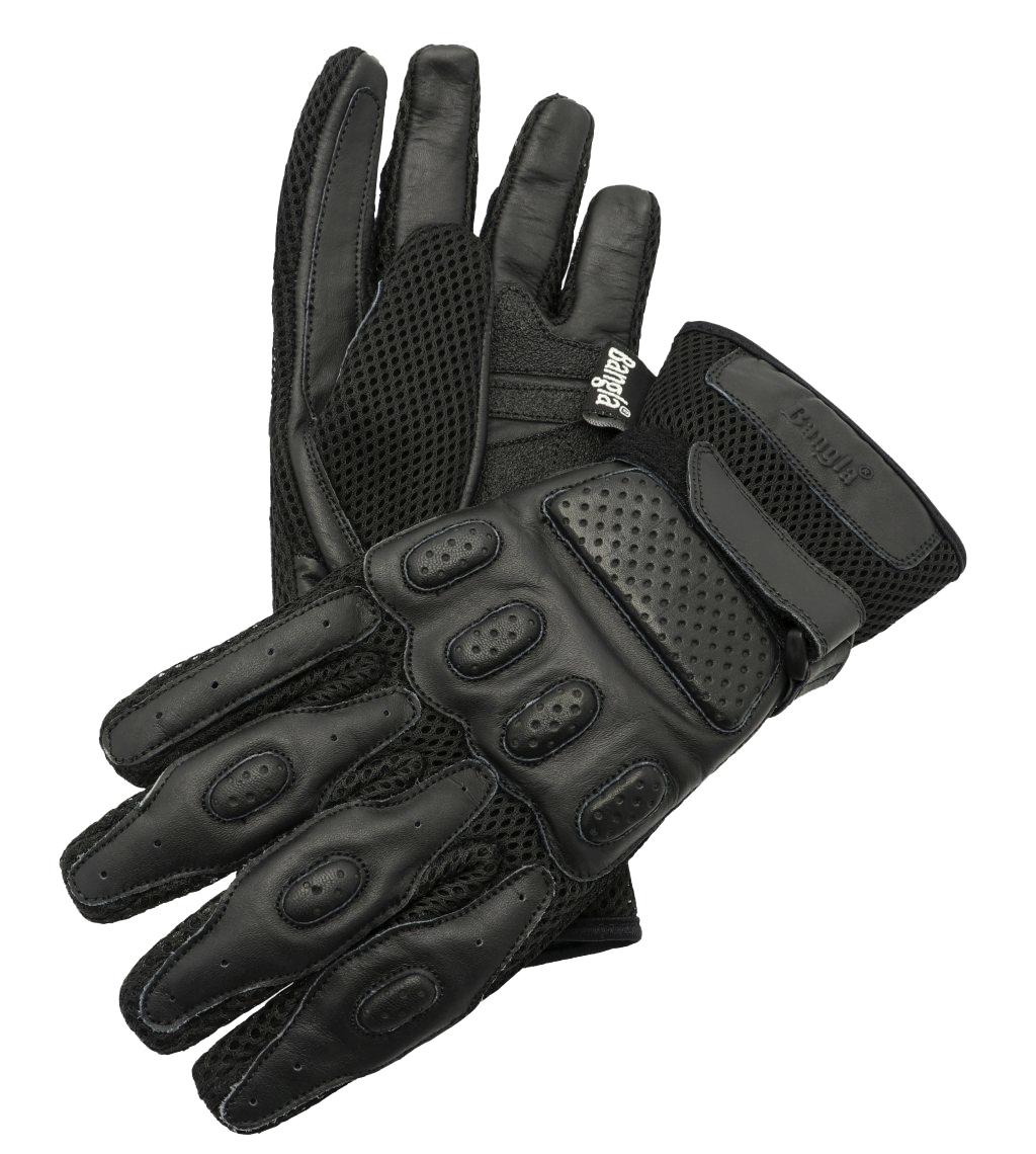 Bangla Motorrad Handschuhe Motorradhandschuhe Sommer schwarz XS - XXXL 5009