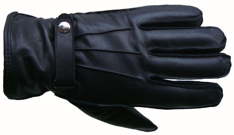 Winter-Handschuhe-Lederhandschuhe-SCHWARZ-Herren-Neu-S-M-XL-XXL
